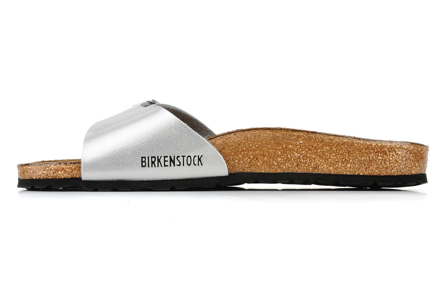 Mules & clogs Birkenstock Madrid Flor W Silver front view