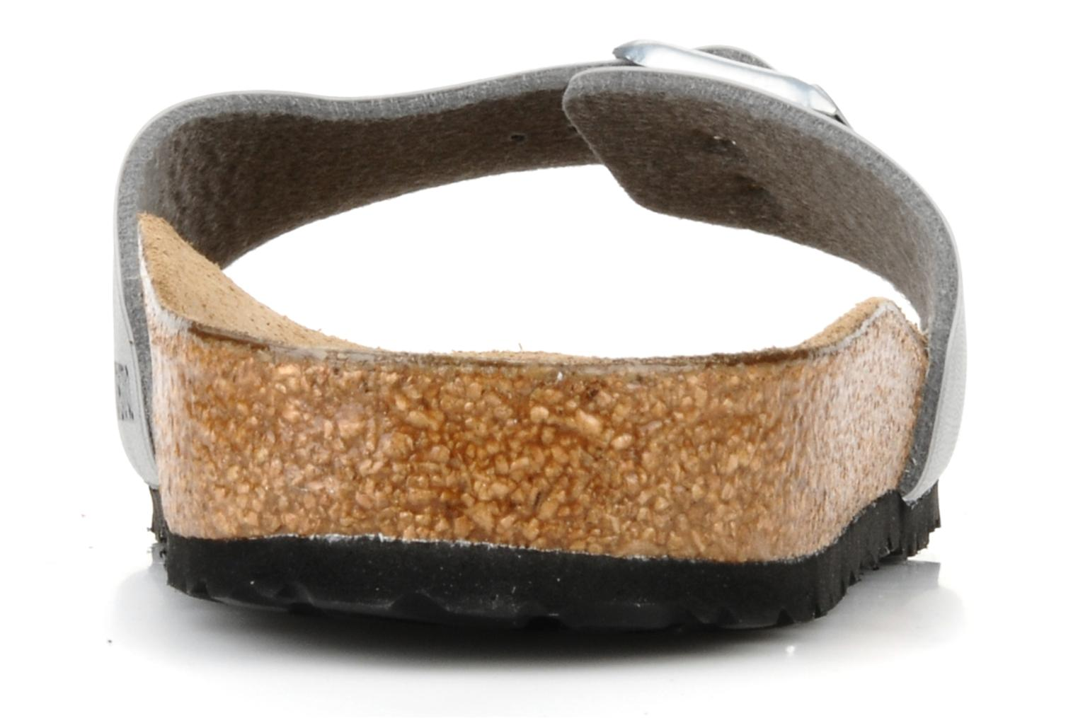 Mules & clogs Birkenstock Madrid Flor W Silver view from the right