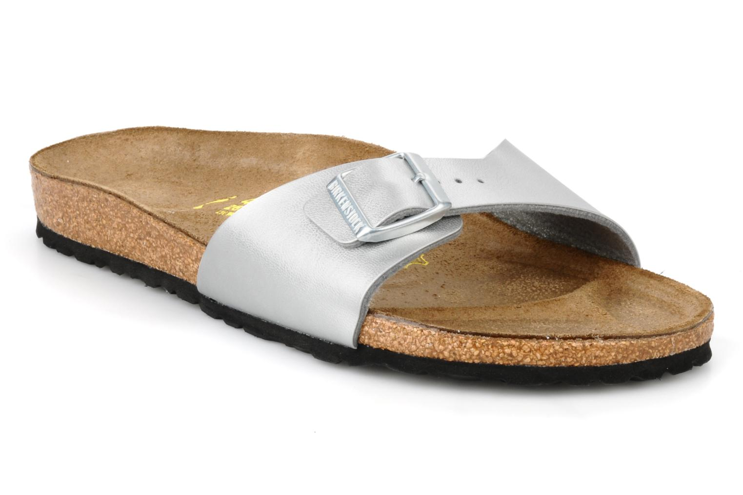 Mules & clogs Birkenstock Madrid Flor W Silver detailed view/ Pair view