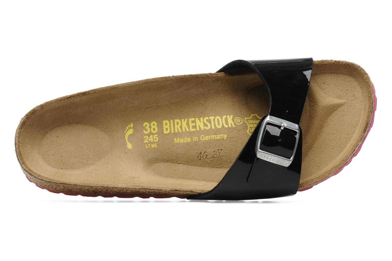 Mules et sabots Birkenstock Madrid Flor W Noir vue gauche