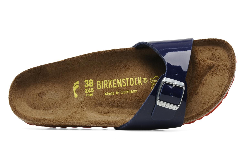 Mules et sabots Birkenstock Madrid Flor W Bleu vue gauche