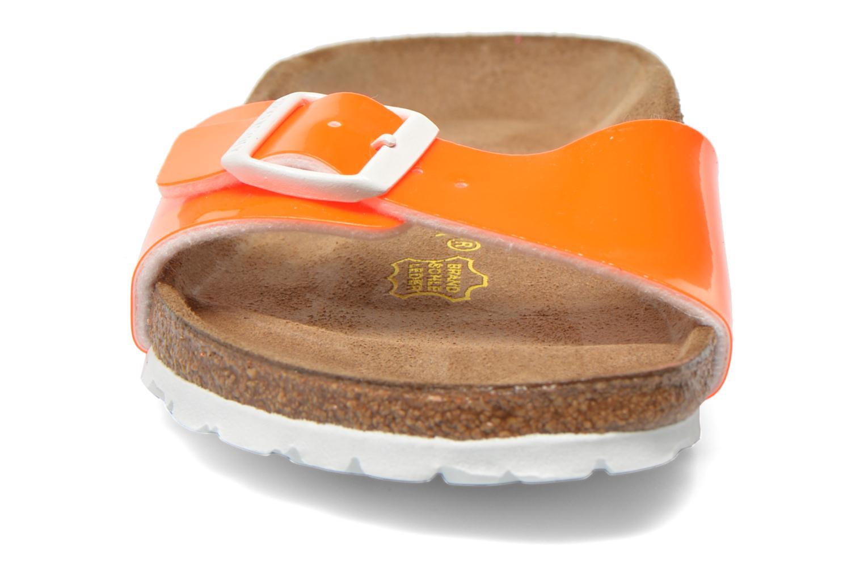 Mules et sabots Birkenstock Madrid Flor W Orange vue portées chaussures