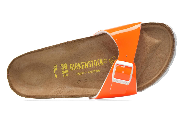 Mules et sabots Birkenstock Madrid Flor W Orange vue gauche