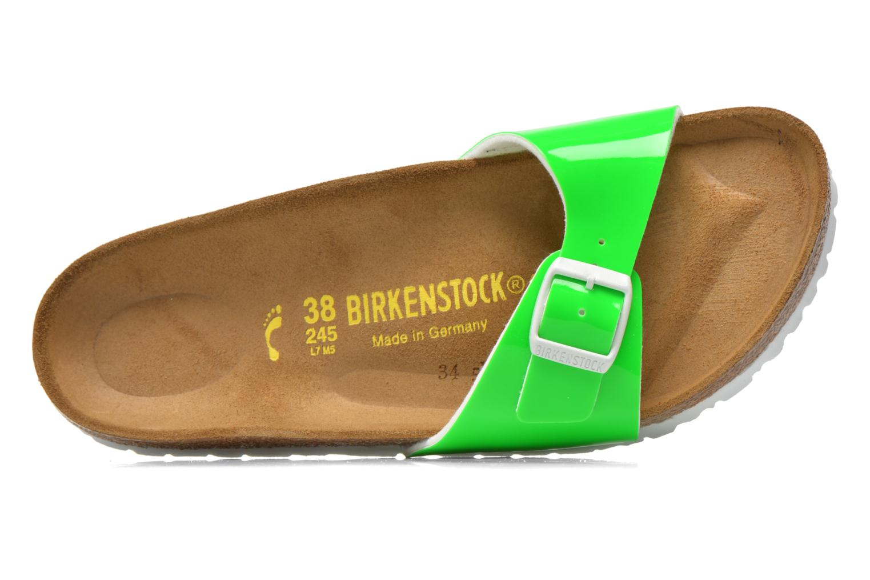 Mules et sabots Birkenstock Madrid Flor W Vert vue gauche