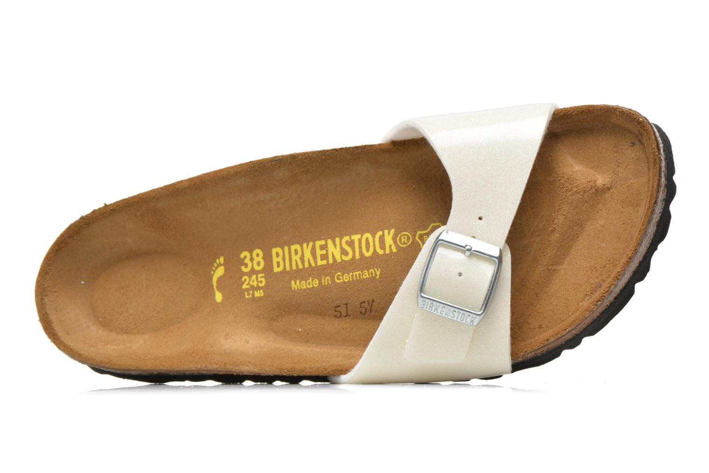 Mules et sabots Birkenstock Madrid Flor W Blanc vue gauche