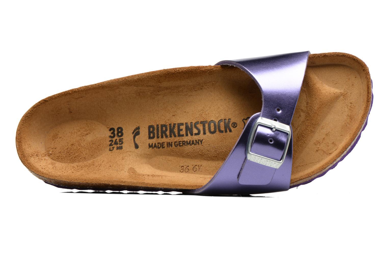 Mules et sabots Birkenstock Madrid Flor W Violet vue gauche