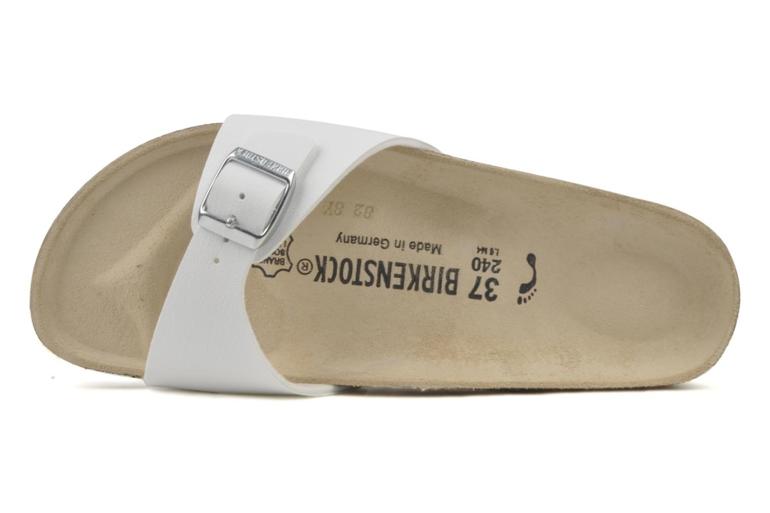 Mules & clogs Birkenstock Madrid Flor W White view from the left