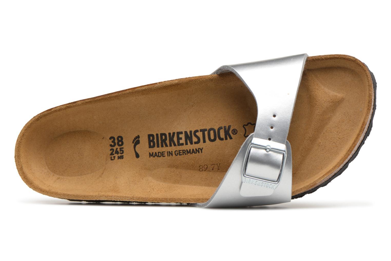 Mules et sabots Birkenstock Madrid Flor W Argent vue gauche