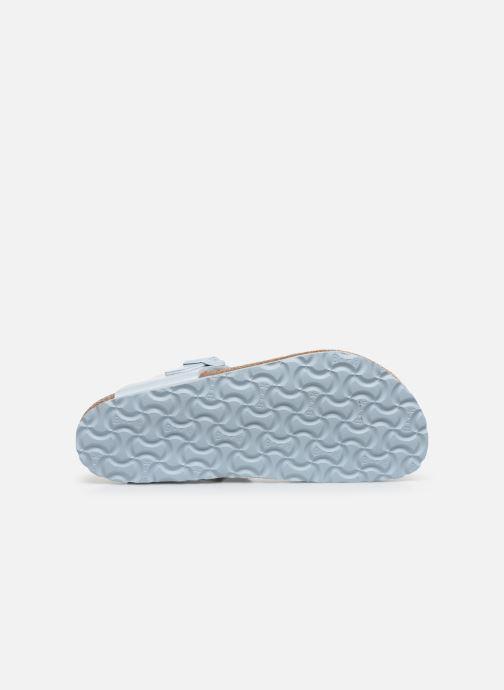 Clogs & Pantoletten Birkenstock Gizeh Flor W blau ansicht von oben