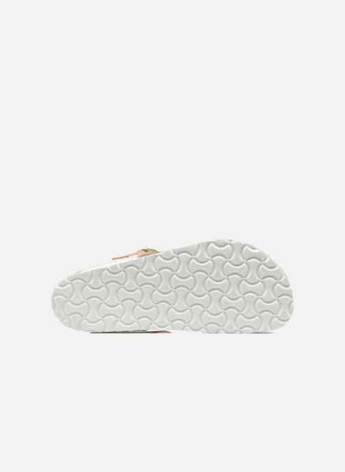 Clogs & Pantoletten Birkenstock Gizeh Flor W beige ansicht von oben