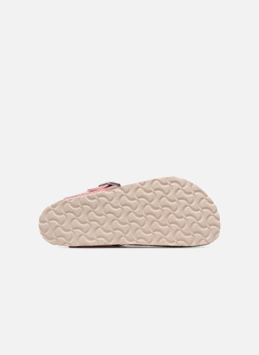 Clogs & Pantoletten Birkenstock Gizeh Flor W rosa ansicht von oben