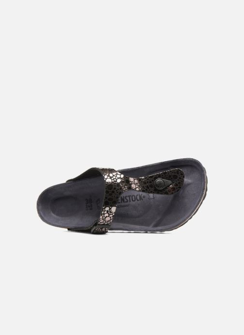 Wedges Birkenstock Gizeh Flor W Zwart links