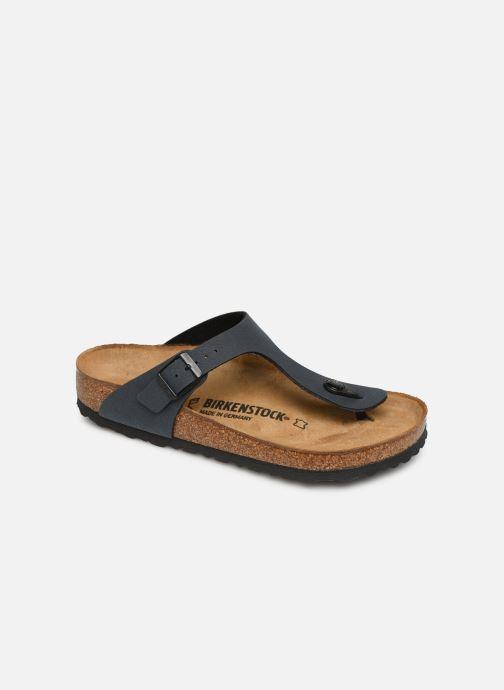 Clogs og træsko Birkenstock Gizeh Flor W Grå detaljeret billede af skoene