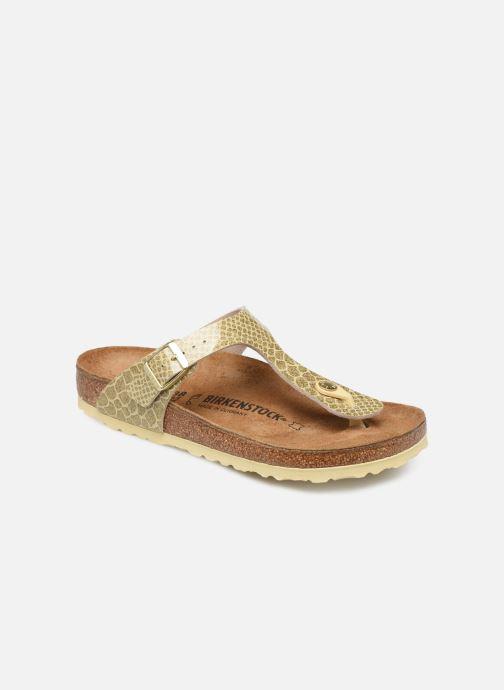 45100e35bbdc Birkenstock Gizeh Flor W (Bronze and Gold) - Sandals chez Sarenza ...