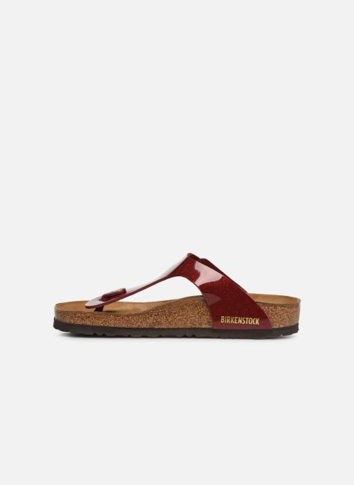 Mules & clogs Birkenstock Gizeh Flor W Red front view