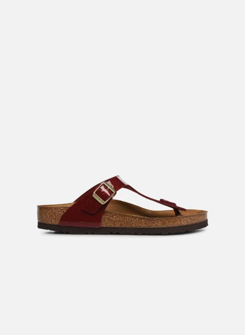 Mules & clogs Birkenstock Gizeh Flor W Red back view