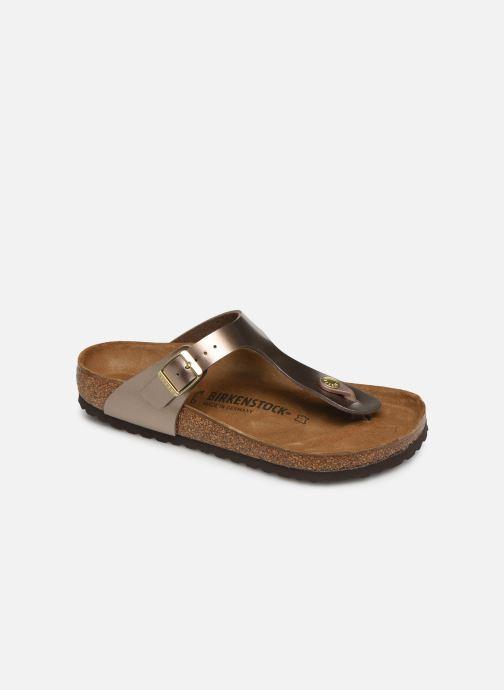 369ecb846a5 Birkenstock Gizeh Flor W (Brown) - Sandals chez Sarenza (373271)