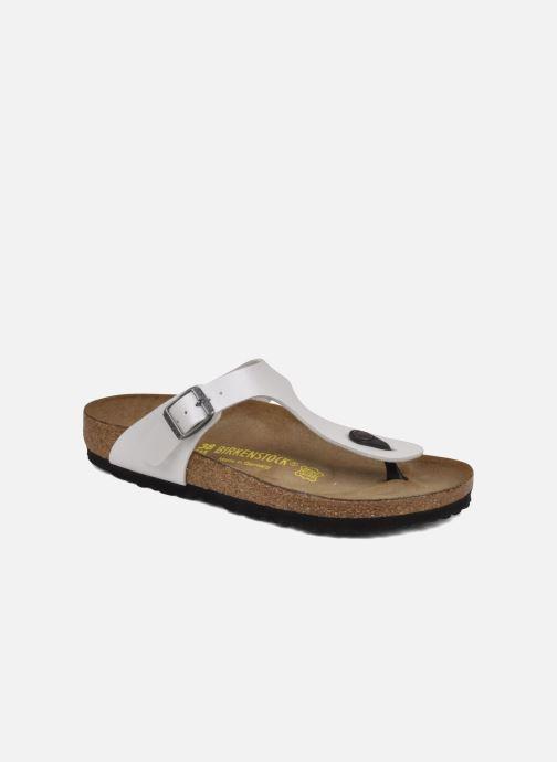4322b62359d7 Birkenstock Gizeh Flor W (White) - Sandals chez Sarenza (38204)