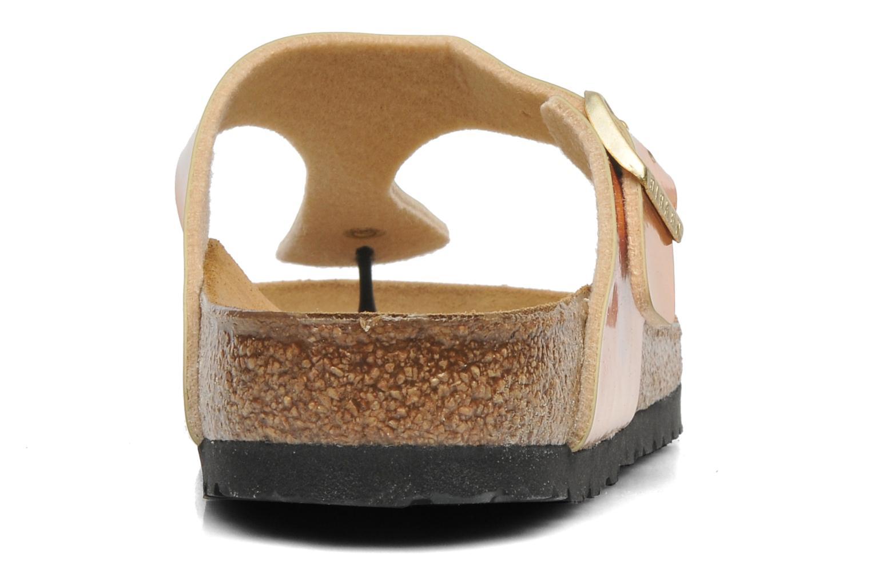 Sandales et nu-pieds Birkenstock Gizeh Flor W Rose vue droite