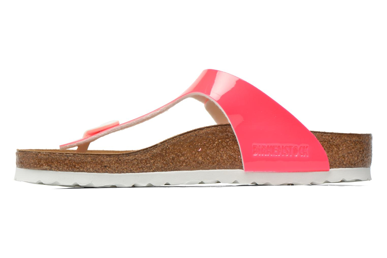 Sandals Birkenstock Gizeh Flor W Pink front view