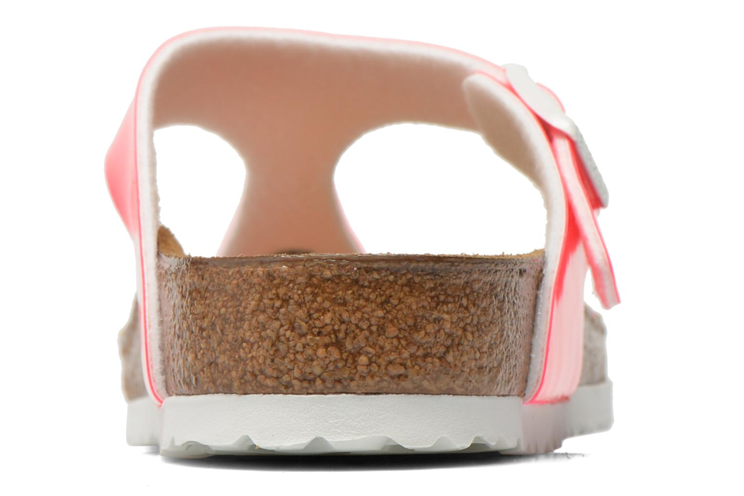 Sandals Birkenstock Gizeh Flor W Pink view from the right