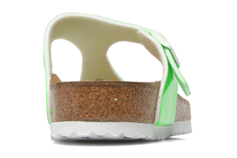 Sandales et nu-pieds Birkenstock Gizeh Flor W Vert vue droite