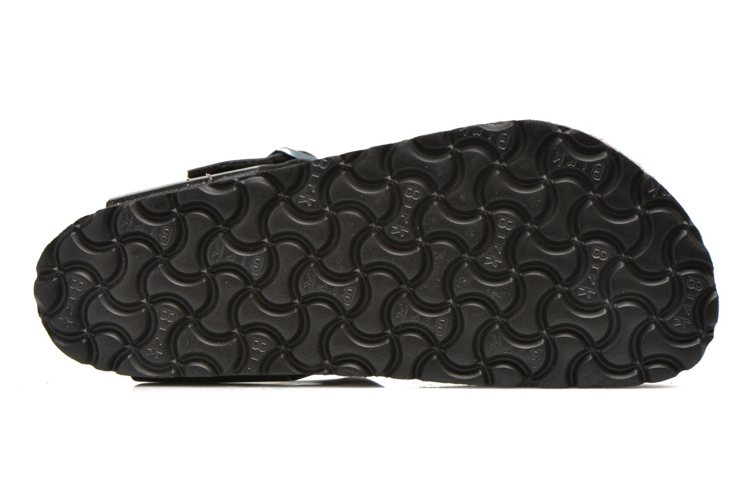 Sandals Birkenstock Gizeh Flor W Black view from above