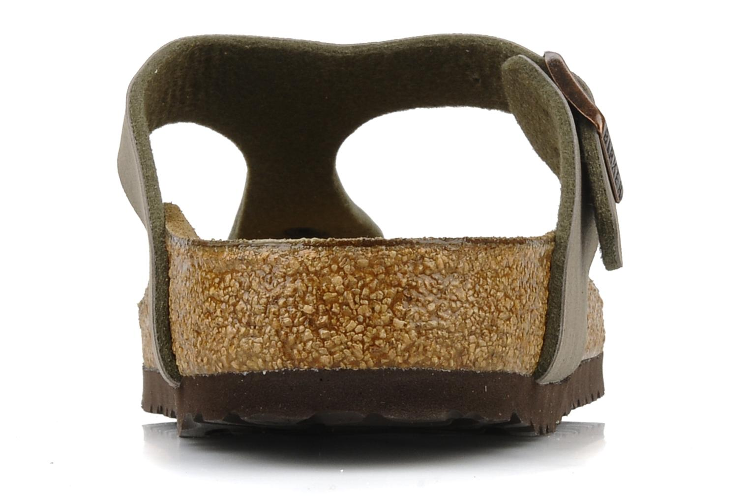 Sandals Birkenstock Gizeh Flor W Grey view from the right
