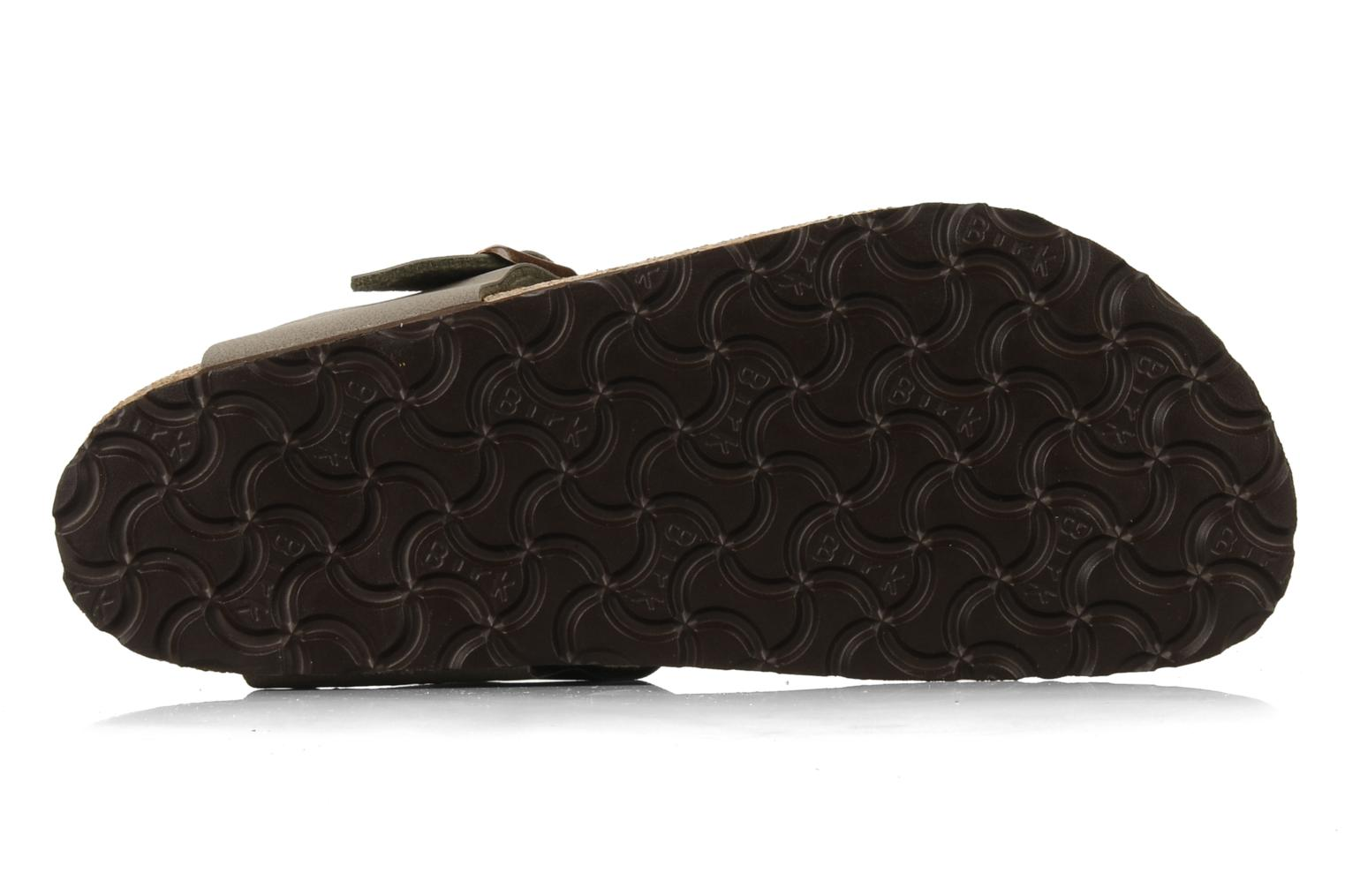 Sandals Birkenstock Gizeh Flor W Grey view from above