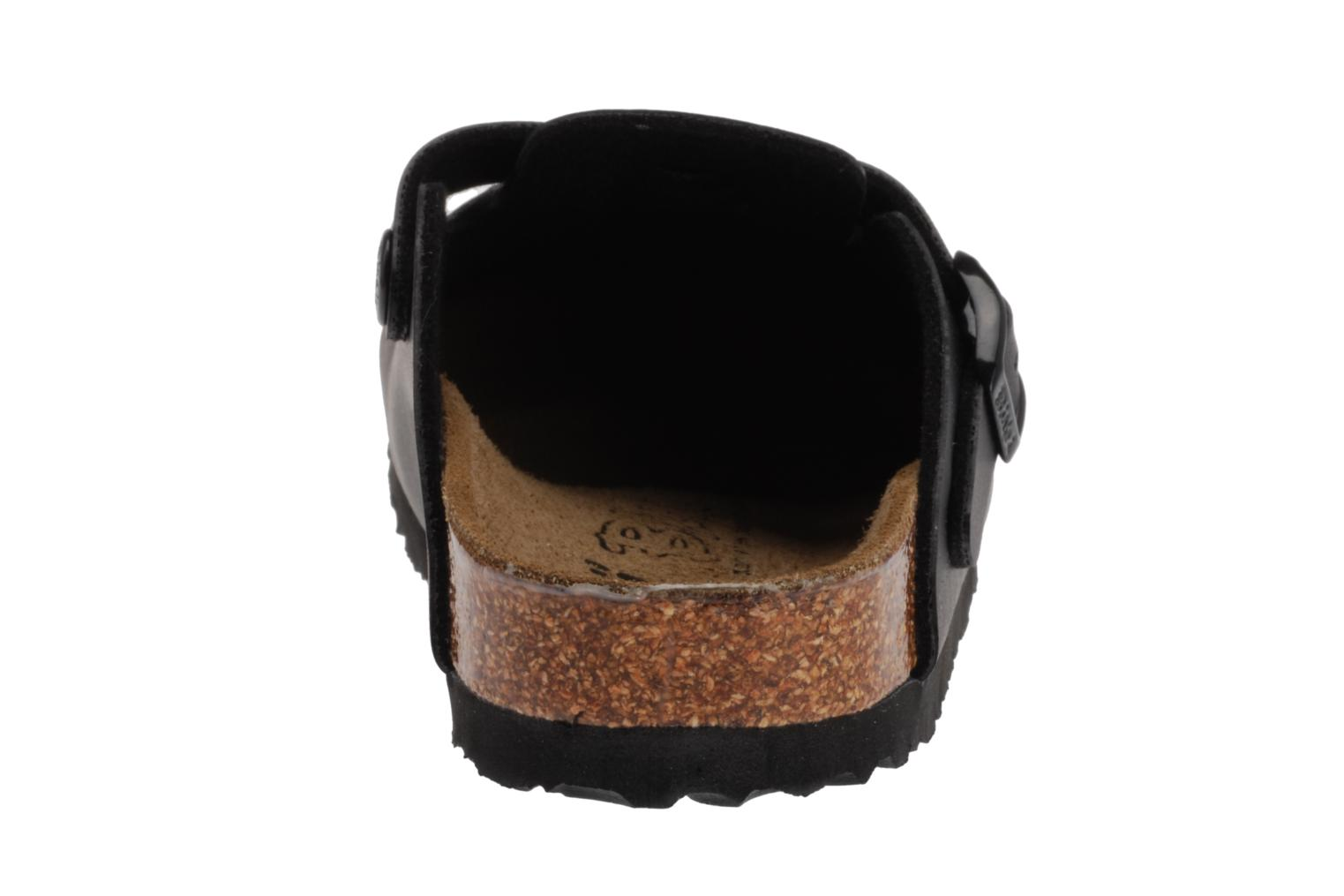 Sandals Birkenstock Woodby Birko Flor E Black view from the right
