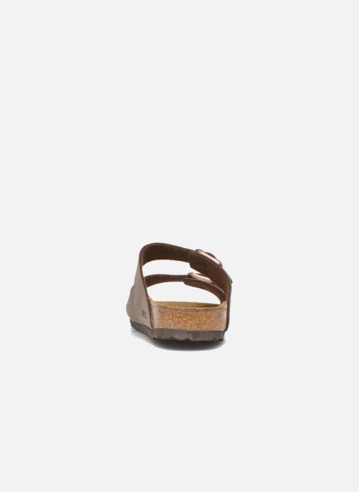 Sandales et nu-pieds Birkenstock Arizona Flor M Marron vue droite
