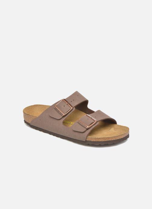 Sandaler Birkenstock Arizona Flor M Brun detaljeret billede af skoene
