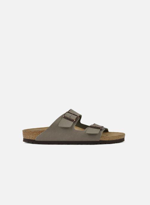 Sandales et nu-pieds Birkenstock Arizona Flor M Gris vue derrière
