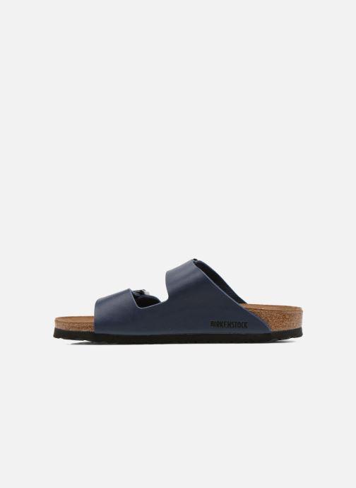 Sandali e scarpe aperte Birkenstock Arizona Flor M Azzurro immagine frontale