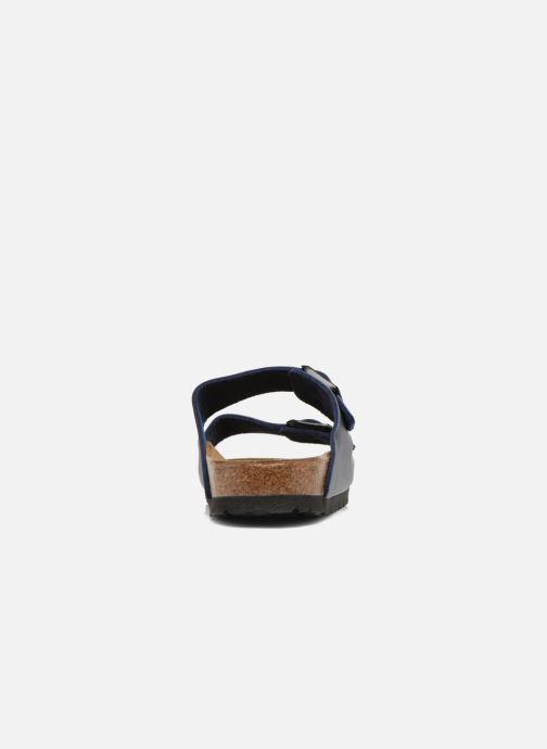 Sandales et nu-pieds Birkenstock Arizona Flor M Bleu vue droite