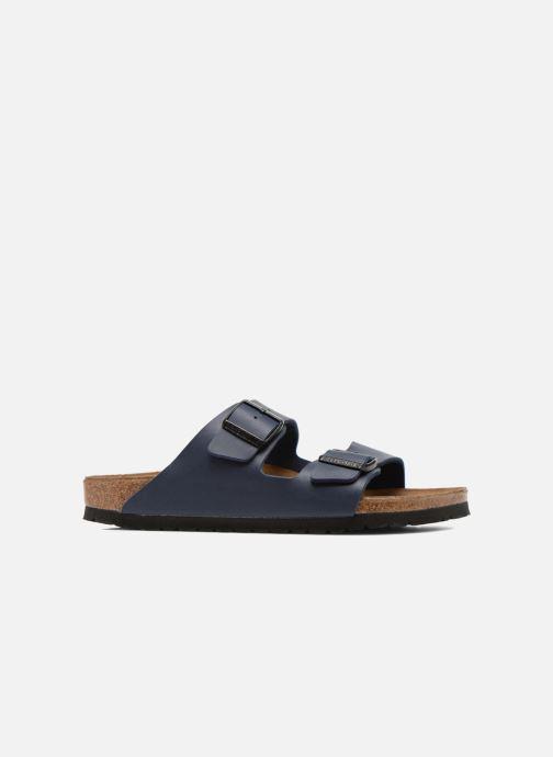 Sandales et nu-pieds Birkenstock Arizona Flor M Bleu vue derrière