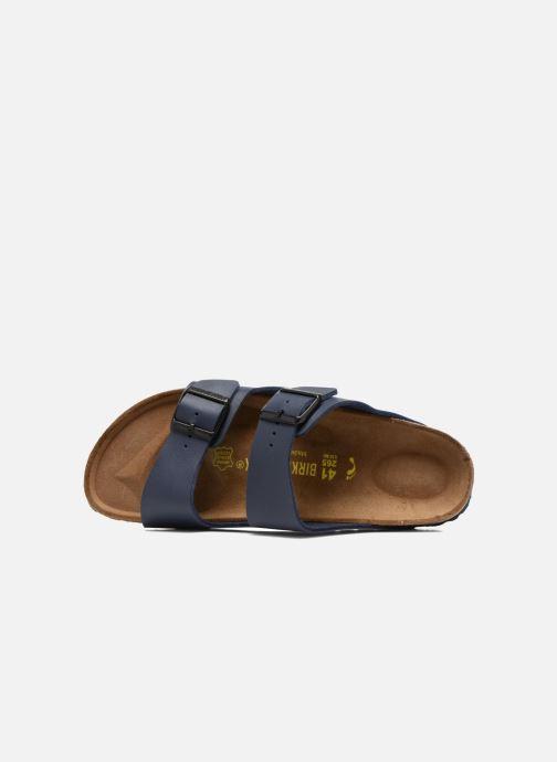 Sandales et nu-pieds Birkenstock Arizona Flor M Bleu vue gauche
