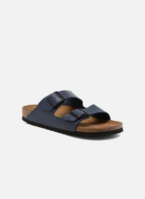 Sandales et nu-pieds Birkenstock Arizona Flor M Bleu vue détail/paire