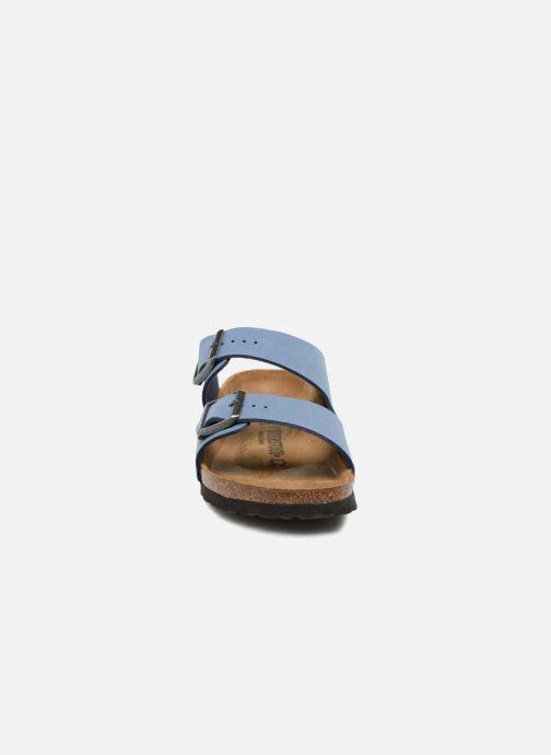 Sandals Birkenstock Arizona Flor M Blue model view