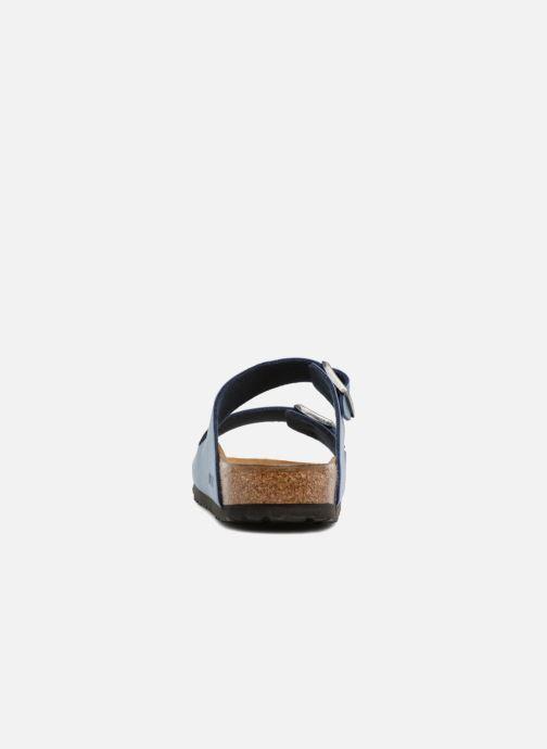 Sandali e scarpe aperte Birkenstock Arizona Flor M Azzurro immagine destra