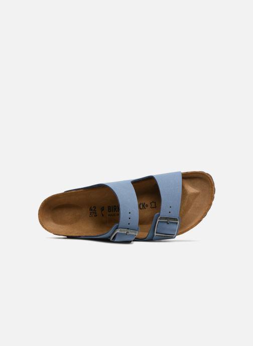 Sandali e scarpe aperte Birkenstock Arizona Flor M Azzurro immagine sinistra