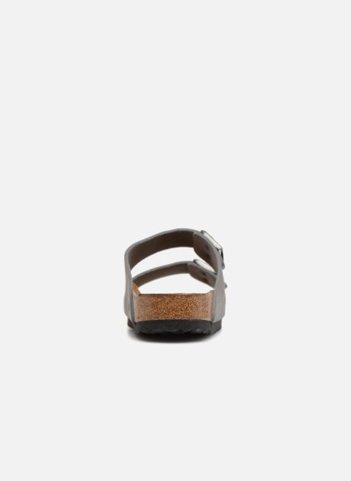 Sandales et nu-pieds Birkenstock Arizona Flor M Gris vue droite