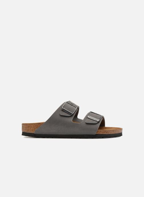 Sandali e scarpe aperte Birkenstock Arizona Flor M Grigio immagine posteriore