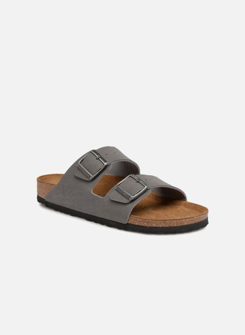 Sandaler Birkenstock Arizona Flor M Grå detaljeret billede af skoene