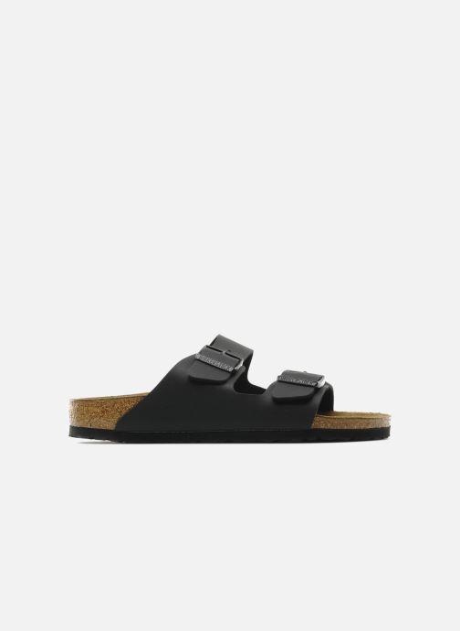 Sandales et nu-pieds Birkenstock Arizona Flor M Noir vue derrière