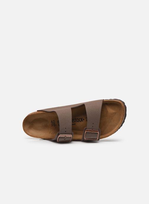Sandali e scarpe aperte Birkenstock Arizona Flor M Marrone immagine sinistra