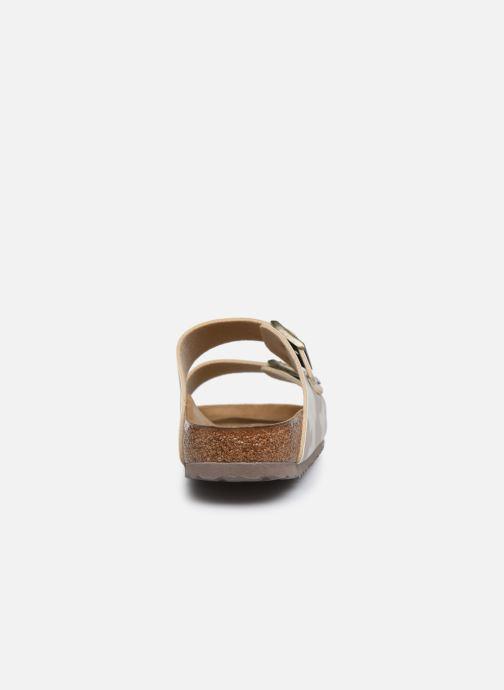Sandales et nu-pieds Birkenstock Arizona Flor M Blanc vue droite