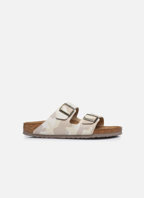 Sandales et nu-pieds Birkenstock Arizona Flor M Blanc vue derrière
