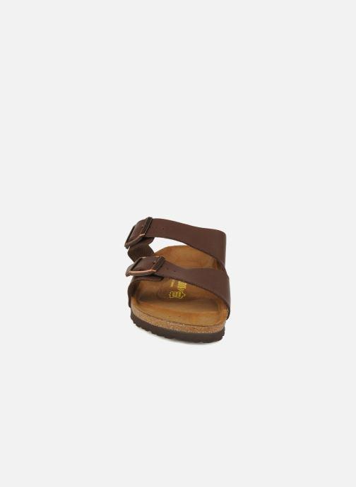 Sandals Birkenstock Arizona Flor M Brown model view