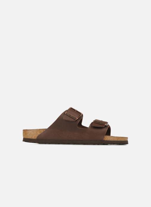 Sandali e scarpe aperte Birkenstock Arizona Flor M Marrone immagine posteriore
